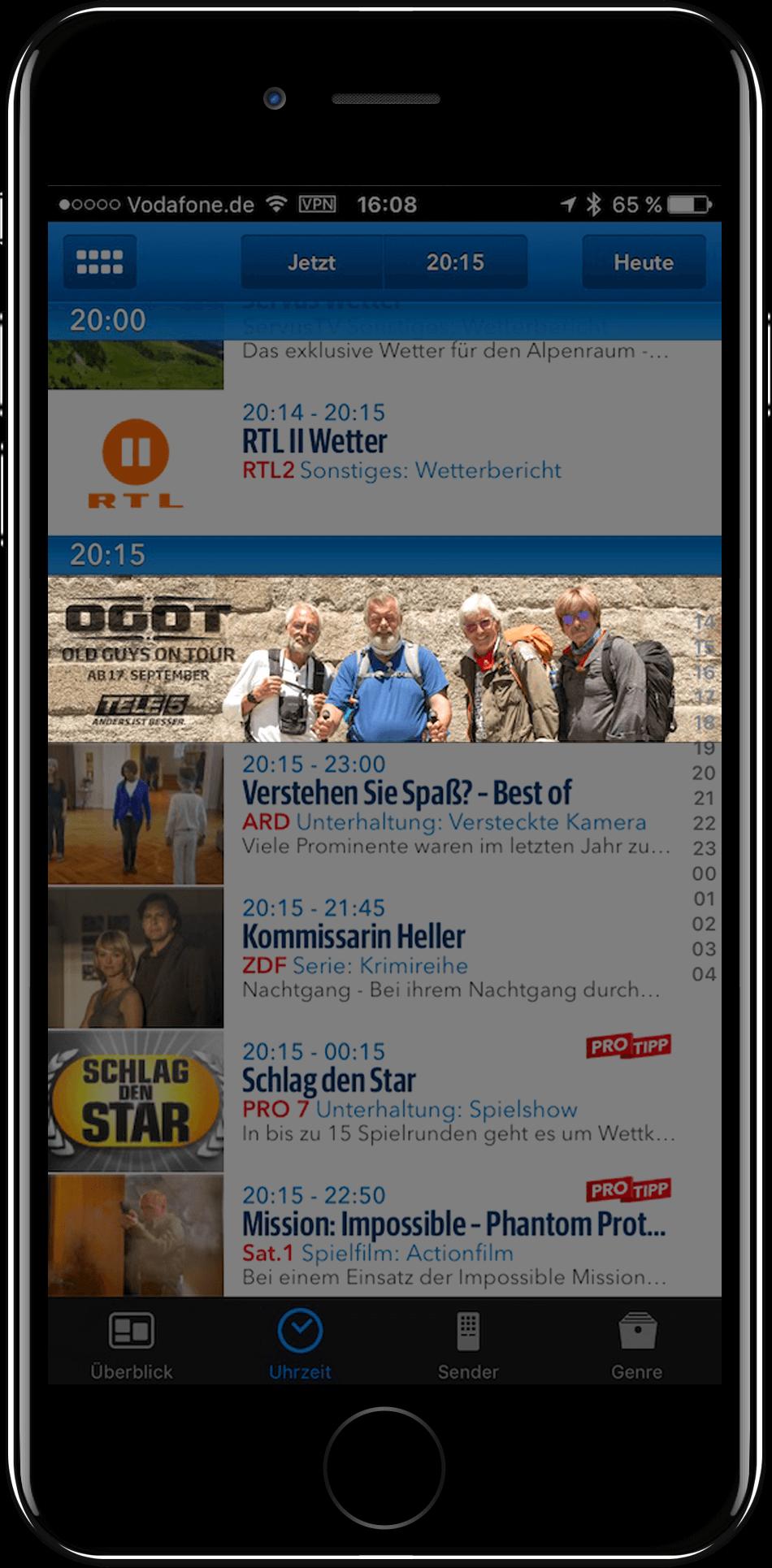 Tele5 Werbung App