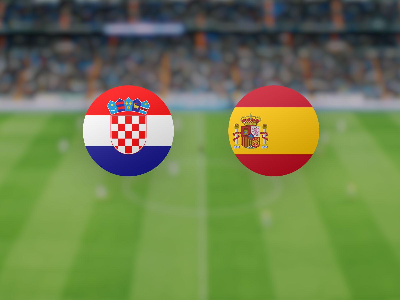 watch Croatia vs Spain in Euro 2020 last-16 knockout rounds